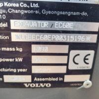 Vking Tweedehands Volvo Ec60e 11
