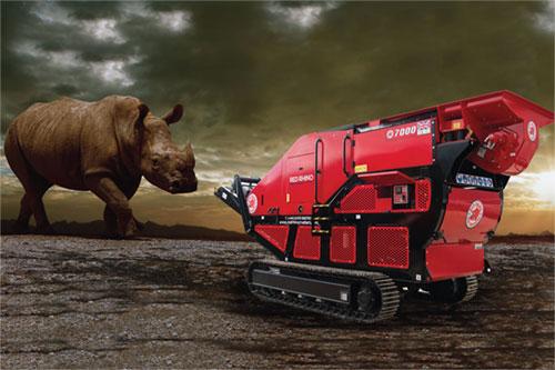 Vking Verkoop Red Rhino Crusher