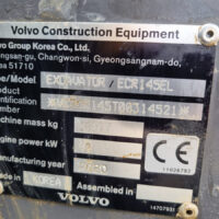 Vking Tweedehands Volvo Ecr145el 02
