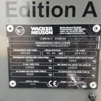 Vking Tweedehands Wacker Neuson Dv100 08