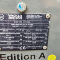 Vking Tweedehands Wacker Neuson Dw30 05